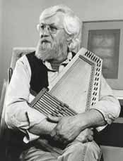 Robert Sund with autoharp
