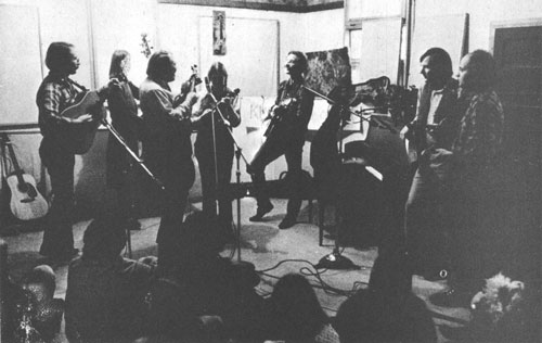 Tall Timber String Band in KRAB Music Studio