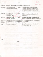 Timeline document